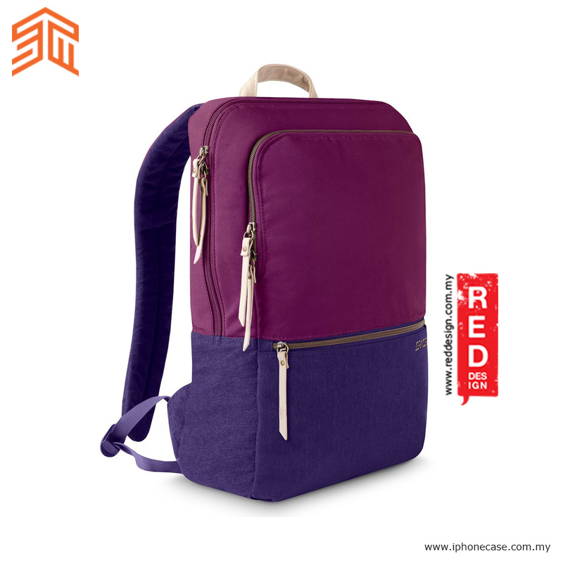 "Picture of STM GRACE Series Laptop Backpacks up to 15"" inches - Dark Purple Red Design- Red Design Cases, Red Design Covers, iPad Cases and a wide selection of Red Design Accessories in Malaysia, Sabah, Sarawak and Singapore"
