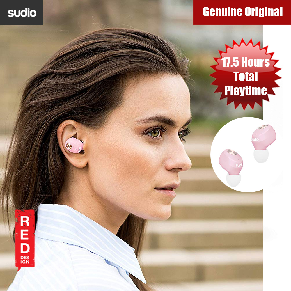 Picture of Sudio Niva  TWS True Wireless Bluetooth Earbuds (Pink) Red Design- Red Design Cases, Red Design Covers, iPad Cases and a wide selection of Red Design Accessories in Malaysia, Sabah, Sarawak and Singapore