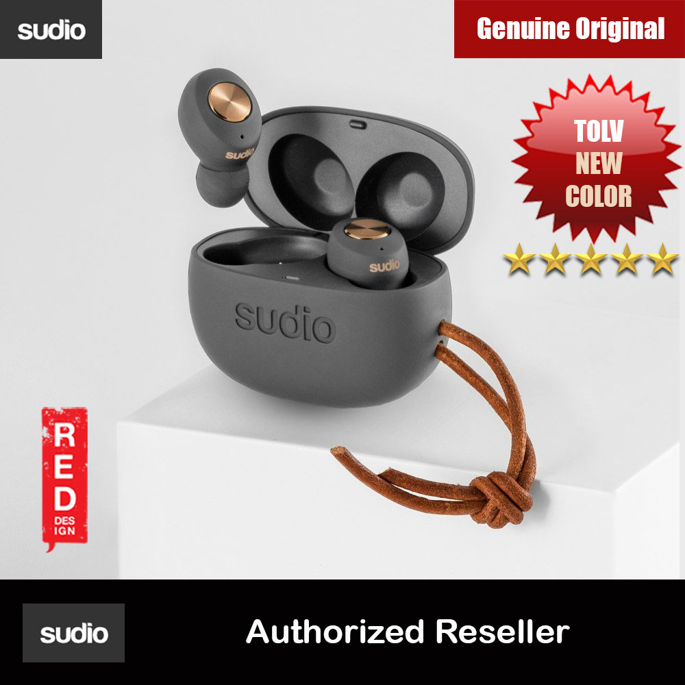 Picture of Sudio TOLV TWS True Wireless Bluetooth Earbuds (ANTHRACITE) Red Design- Red Design Cases, Red Design Covers, iPad Cases and a wide selection of Red Design Accessories in Malaysia, Sabah, Sarawak and Singapore