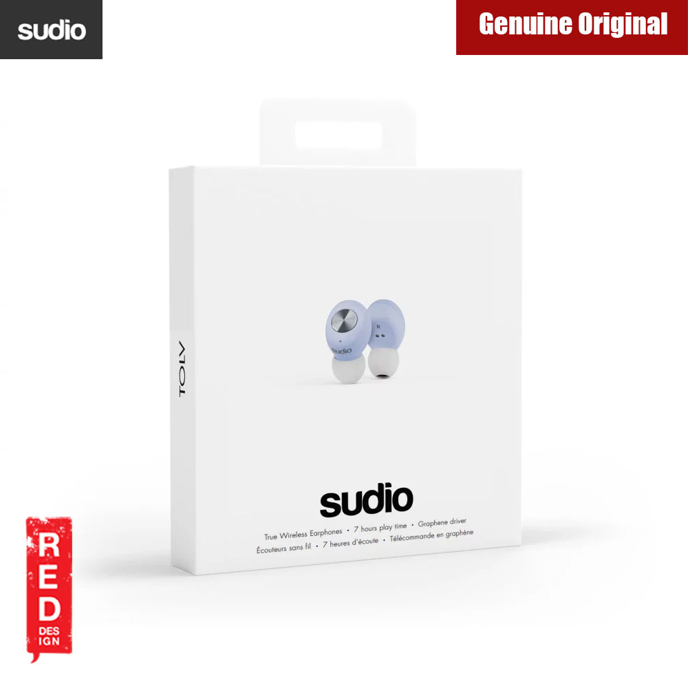 Picture of Sudio TOLV TWS True Wireless Bluetooth Earbuds (Blue)