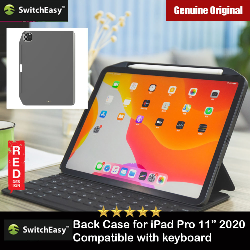 "Picture of Switcheasy Coverbuddy Back Cover Case Compatible with Smart Keybord Folio for Apple iPad Pro 11"" 2nd Gen 2020 (Dark Gray) Apple iPad Pro 11 2nd gen 2020- Apple iPad Pro 11 2nd gen 2020 Cases, Apple iPad Pro 11 2nd gen 2020 Covers, iPad Cases and a wide selection of Apple iPad Pro 11 2nd gen 2020 Accessories in Malaysia, Sabah, Sarawak and Singapore"