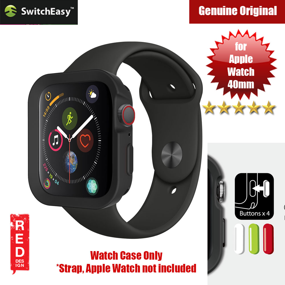 Picture of Switcheasy Color Series Case for Apple Watch 40mm (Black) Apple Watch 40mm- Apple Watch 40mm Cases, Apple Watch 40mm Covers, iPad Cases and a wide selection of Apple Watch 40mm Accessories in Malaysia, Sabah, Sarawak and Singapore