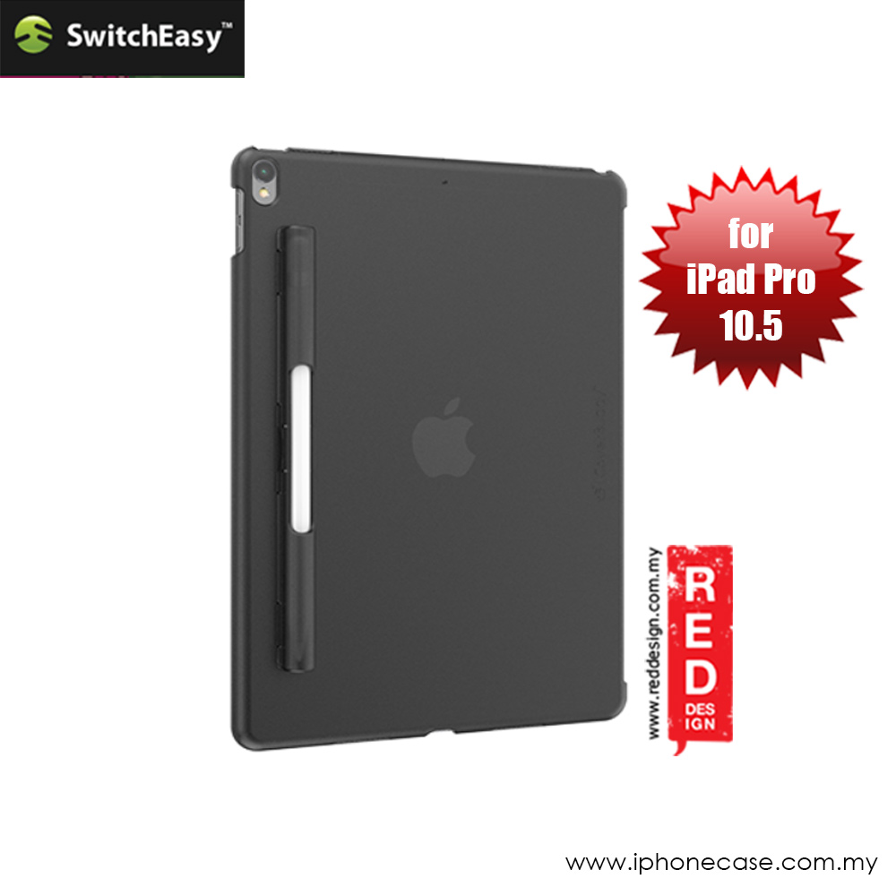Picture of Apple iPad Pro 10.5 2017 Case | Switcheasy Coverbuddy Back Cover Case for Apple iPad Pro 10.5 2017 (Tint Black)
