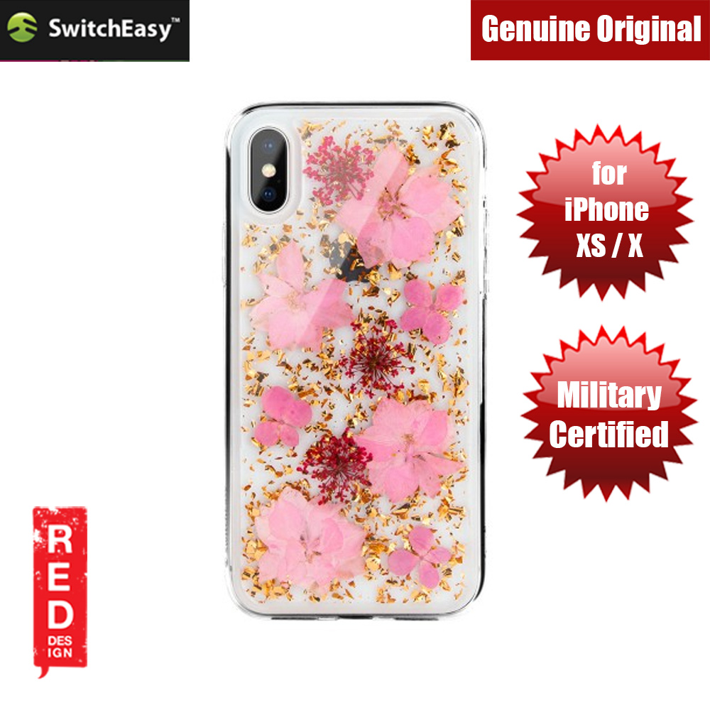 Picture of Switcheasy Flash Floral Series Case with Camera Lens Protection for Apple iPhone XS iPhone X (Luscious) Apple iPhone X- Apple iPhone X Cases, Apple iPhone X Covers, iPad Cases and a wide selection of Apple iPhone X Accessories in Malaysia, Sabah, Sarawak and Singapore