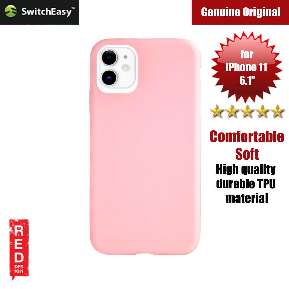 Picture of Switcheasy Jelly Bean Colors Comfortable Case for Apple iPhone 11 6.1 (Pink) Apple iPhone 11 6.1- Apple iPhone 11 6.1 Cases, Apple iPhone 11 6.1 Covers, iPad Cases and a wide selection of Apple iPhone 11 6.1 Accessories in Malaysia, Sabah, Sarawak and Singapore