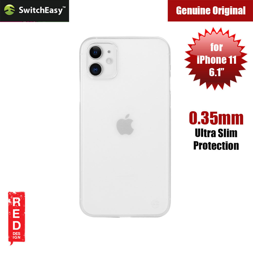 Picture of Switcheasy 0.35mm Ultra Thin and Light Case for Apple iPhone 11 6.1 (White) Apple iPhone 11 6.1- Apple iPhone 11 6.1 Cases, Apple iPhone 11 6.1 Covers, iPad Cases and a wide selection of Apple iPhone 11 6.1 Accessories in Malaysia, Sabah, Sarawak and Singapore