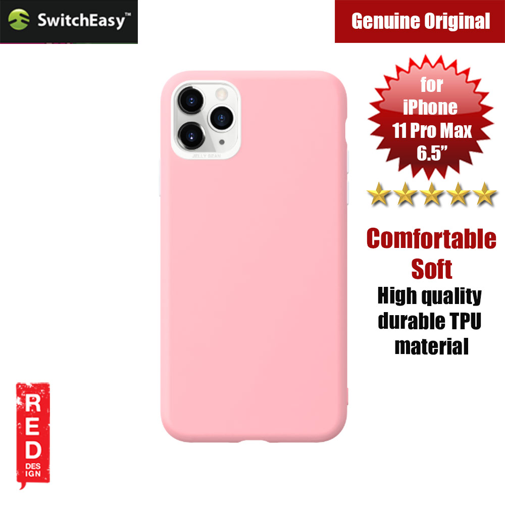 Picture of Switcheasy Jelly Bean Colors Comfortable Case for Apple iPhone 11 Pro Max 6.5 (Pink) Apple iPhone 11 Pro Max 6.5- Apple iPhone 11 Pro Max 6.5 Cases, Apple iPhone 11 Pro Max 6.5 Covers, iPad Cases and a wide selection of Apple iPhone 11 Pro Max 6.5 Accessories in Malaysia, Sabah, Sarawak and Singapore