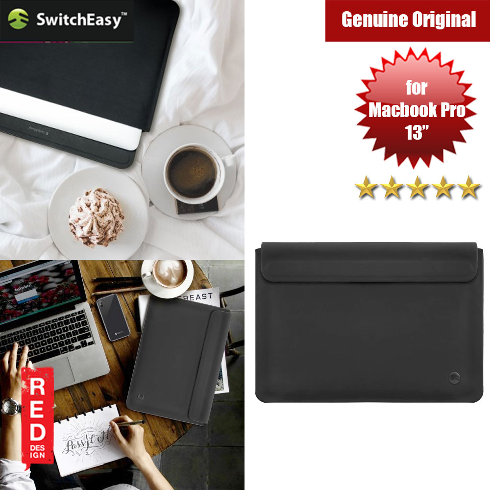 "Picture of Switcheasy Thins 13 Sleeve Design for Macbook Pro 13"" (Black) Red Design- Red Design Cases, Red Design Covers, iPad Cases and a wide selection of Red Design Accessories in Malaysia, Sabah, Sarawak and Singapore"