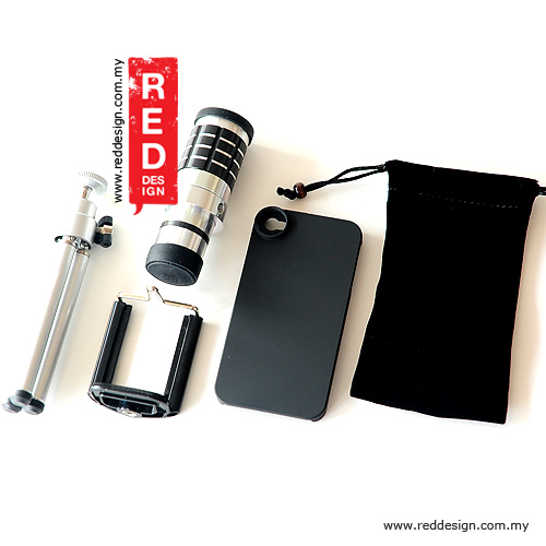 Picture of Apple iPhone 4  | Telephoto Lens for Mobile Phone magnificent 12X for iPhone 4 4s - Silver