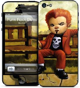 Picture of Gelaskins for Apple iPhone 5 - Punk Rock Apple iPhone 5- Apple iPhone 5 Cases, Apple iPhone 5 Covers, iPad Cases and a wide selection of Apple iPhone 5 Accessories in Malaysia, Sabah, Sarawak and Singapore