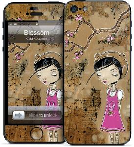 Picture of Gelaskins for Apple iPhone 5 - Blossom Apple iPhone 5- Apple iPhone 5 Cases, Apple iPhone 5 Covers, iPad Cases and a wide selection of Apple iPhone 5 Accessories in Malaysia, Sabah, Sarawak and Singapore