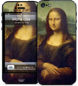 Picture of Gelaskins for Apple iPhone 5 - Mona Lisa Apple iPhone 5- Apple iPhone 5 Cases, Apple iPhone 5 Covers, iPad Cases and a wide selection of Apple iPhone 5 Accessories in Malaysia, Sabah, Sarawak and Singapore
