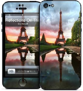 Picture of Gelaskins for Apple iPhone 5 -  Reflections Of The Eiffel Tower Apple iPhone 5- Apple iPhone 5 Cases, Apple iPhone 5 Covers, iPad Cases and a wide selection of Apple iPhone 5 Accessories in Malaysia, Sabah, Sarawak and Singapore