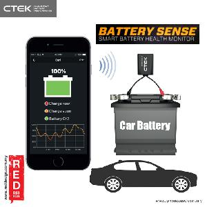 Picture of CTEK CTX BATTERY SENSE Smart Battery Health Monitor Red Design- Red Design Cases, Red Design Covers, iPad Cases and a wide selection of Red Design Accessories in Malaysia, Sabah, Sarawak and Singapore