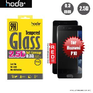 Picture of Hoda 0.33mm Full Coverage Tempered Glass Screen Protector for Huawei P10 - Black Huawei P10 5.1- Huawei P10 5.1 Cases, Huawei P10 5.1 Covers, iPad Cases and a wide selection of Huawei P10 5.1 Accessories in Malaysia, Sabah, Sarawak and Singapore
