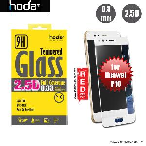 Picture of Hoda 0.33mm Full Coverage Tempered Glass Screen Protector for Huawei P10 - White Huawei P10 5.1- Huawei P10 5.1 Cases, Huawei P10 5.1 Covers, iPad Cases and a wide selection of Huawei P10 5.1 Accessories in Malaysia, Sabah, Sarawak and Singapore