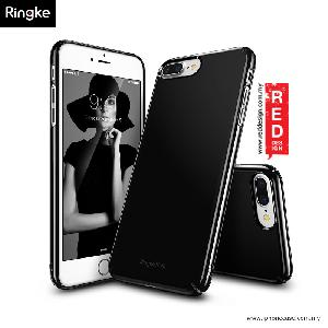 Picture of Ringke Slim Lightweight Thin Superior PC Hard Cover for Apple iPhone 7 Plus - Glossy Black Apple iPhone 8 Plus- Apple iPhone 8 Plus Cases, Apple iPhone 8 Plus Covers, iPad Cases and a wide selection of Apple iPhone 8 Plus Accessories in Malaysia, Sabah, Sarawak and Singapore