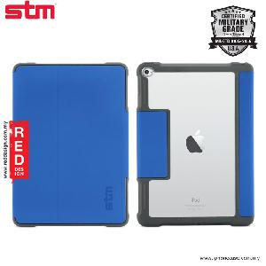 Picture of STM Dux Military Grade Drop Protection Flip Cover Case for iPad Air 2 - Blue Apple iPad Air 2- Apple iPad Air 2 Cases, Apple iPad Air 2 Covers, iPad Cases and a wide selection of Apple iPad Air 2 Accessories in Malaysia, Sabah, Sarawak and Singapore