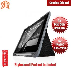 Picture of STM Dux Plus iPad 5th 6th Gen iPad 9.7 2017 2018 Case With Apple Pencil Storage (Black) Apple iPad 9.7 2018- Apple iPad 9.7 2018 Cases, Apple iPad 9.7 2018 Covers, iPad Cases and a wide selection of Apple iPad 9.7 2018 Accessories in Malaysia, Sabah, Sarawak and Singapore