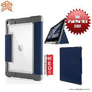 Picture of STM Dux Plus Military Grade Drop Protection Flip Cover Case for Apple iPad Pro 10.5 2017 - Midnight Blue Apple iPad Pro 10.5 2017- Apple iPad Pro 10.5 2017 Cases, Apple iPad Pro 10.5 2017 Covers, iPad Cases and a wide selection of Apple iPad Pro 10.5 2017 Accessories in Malaysia, Sabah, Sarawak and Singapore