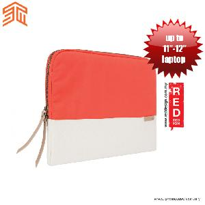 "Picture of STM Grace laptop Sleeve up to 11"" - Coral Dove Red Design- Red Design Cases, Red Design Covers, iPad Cases and a wide selection of Red Design Accessories in Malaysia, Sabah, Sarawak and Singapore"