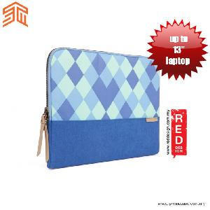 "Picture of STM Grace laptop Sleeve up to 13"" - Blue Diamonds Red Design- Red Design Cases, Red Design Covers, iPad Cases and a wide selection of Red Design Accessories in Malaysia, Sabah, Sarawak and Singapore"