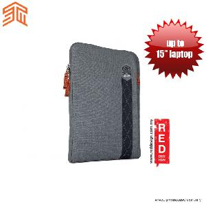 """Picture of STM Ridge laptop Sleeve up to 15"""" - Tornado Grey Red Design- Red Design Cases, Red Design Covers, iPad Cases and a wide selection of Red Design Accessories in Malaysia, Sabah, Sarawak and Singapore"""