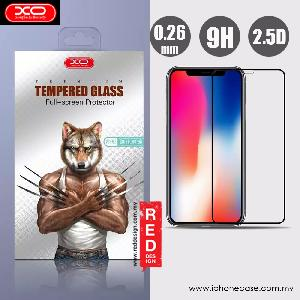 Picture of XO Invisible High Quality Tempered Glass for Apple iPhone X (Black) Apple iPhone X- Apple iPhone X Cases, Apple iPhone X Covers, iPad Cases and a wide selection of Apple iPhone X Accessories in Malaysia, Sabah, Sarawak and Singapore