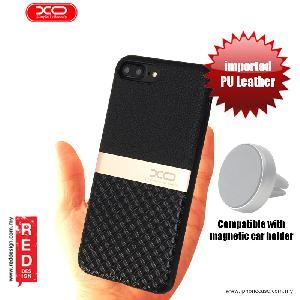 Picture of XO Ying Jue Series Premium PU Leather Case for Apple iPhone 7 Plus iPhone 8 Plus 5.5 - Black Apple iPhone 8 Plus- Apple iPhone 8 Plus Cases, Apple iPhone 8 Plus Covers, iPad Cases and a wide selection of Apple iPhone 8 Plus Accessories in Malaysia, Sabah, Sarawak and Singapore
