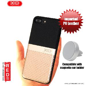 Picture of XO Ying Jue Series Premium PU Leather Case for Apple iPhone 7 Plus iPhone 8 Plus 5.5 - Black Gold Apple iPhone 8 Plus- Apple iPhone 8 Plus Cases, Apple iPhone 8 Plus Covers, iPad Cases and a wide selection of Apple iPhone 8 Plus Accessories in Malaysia, Sabah, Sarawak and Singapore