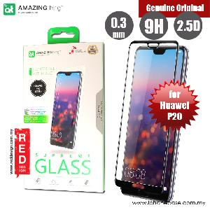 Picture of AMAZINGthing Supreme Glass 0.3mm Fully Covered Tempered Glass for Huawei P20 (Black) Huawei P20- Huawei P20 Cases, Huawei P20 Covers, iPad Cases and a wide selection of Huawei P20 Accessories in Malaysia, Sabah, Sarawak and Singapore