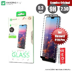 Picture of AMAZINGthing Supreme Glass 0.3mm Fully Covered Tempered Glass for Huawei P20 Pro (Black) Huawei P20 Pro- Huawei P20 Pro Cases, Huawei P20 Pro Covers, iPad Cases and a wide selection of Huawei P20 Pro Accessories in Malaysia, Sabah, Sarawak and Singapore