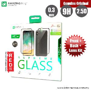 Picture of AMAZINGthing iPhone X Special Edition (Fully Covered SupremeGlass front Fully Covered hybrid SupremeGlass back and Lens Soft-Glass) (Black Black) Apple iPhone X- Apple iPhone X Cases, Apple iPhone X Covers, iPad Cases and a wide selection of Apple iPhone X Accessories in Malaysia, Sabah, Sarawak and Singapore
