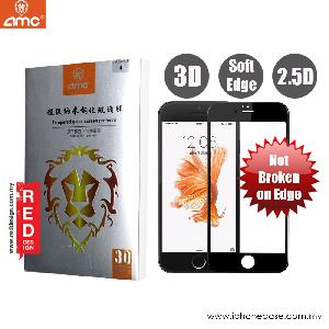 Picture of AMC 3D Ultra Thin Soft Edge Full Screen Tempered Glass for Apple iPhone 6S 4.7 3D Curve 0.15 mm -  Black Apple iPhone 6S 4.7- Apple iPhone 6S 4.7 Cases, Apple iPhone 6S 4.7 Covers, iPad Cases and a wide selection of Apple iPhone 6S 4.7 Accessories in Malaysia, Sabah, Sarawak and Singapore