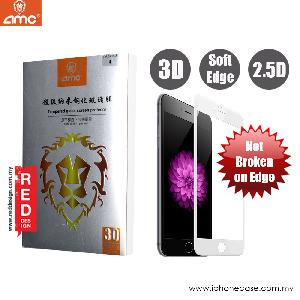 Picture of AMC 3D Ultra Thin Soft Edge Full Screen Tempered Glass for Apple iPhone 6S 4.7 3D Curve 0.15 mm - White Apple iPhone 6 4.7- Apple iPhone 6 4.7 Cases, Apple iPhone 6 4.7 Covers, iPad Cases and a wide selection of Apple iPhone 6 4.7 Accessories in Malaysia, Sabah, Sarawak and Singapore