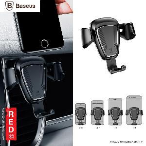 Picture of Baseus Gravity Car Air Con Vent Car Mount - Black Red Design- Red Design Cases, Red Design Covers, iPad Cases and a wide selection of Red Design Accessories in Malaysia, Sabah, Sarawak and Singapore