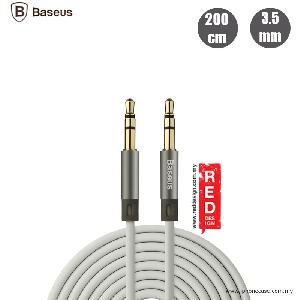 Picture of Baseus Fluency Series AUX audio cable - Grey Red Design- Red Design Cases, Red Design Covers, iPad Cases and a wide selection of Red Design Accessories in Malaysia, Sabah, Sarawak and Singapore