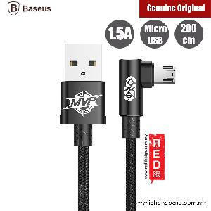Picture of Baseus Elbow Type Micro USB Cable 200cm (Black) Red Design- Red Design Cases, Red Design Covers, iPad Cases and a wide selection of Red Design Accessories in Malaysia, Sabah, Sarawak and Singapore