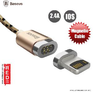 Picture of Baseus Insnap Series Magnetic Lightning Charging Data Cable for iPhone 5S iPhoen 6 iPhone 7 iPhone 8 - Gold Red Design- Red Design Cases, Red Design Covers, iPad Cases and a wide selection of Red Design Accessories in Malaysia, Sabah, Sarawak and Singapore
