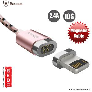 Picture of Baseus Insnap Series Magnetic Lightning Charging Data Cable for iPhone 5S iPhone 6 iPhone 7 iPhone 8 iPhone X - Rose Gold Apple iPhone X- Apple iPhone X Cases, Apple iPhone X Covers, iPad Cases and a wide selection of Apple iPhone X Accessories in Malaysia, Sabah, Sarawak and Singapore