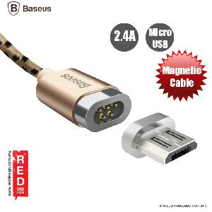 Picture of Baseus Insnap Series Magnetic Micro USB Charging Data Cable - Gold Red Design- Red Design Cases, Red Design Covers, iPad Cases and a wide selection of Red Design Accessories in Malaysia, Sabah, Sarawak and Singapore