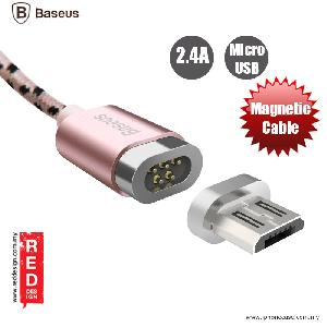 Picture of Baseus Insnap Series Magnetic Micro USB Charging Data Cable - Rose Gold Red Design- Red Design Cases, Red Design Covers, iPad Cases and a wide selection of Red Design Accessories in Malaysia, Sabah, Sarawak and Singapore