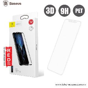Picture of Baseus Ultra Thin Full Screen Tempered Glass for Apple iPhone X PET Soft 3D Curve 0.23 mm (White) Apple iPhone X- Apple iPhone X Cases, Apple iPhone X Covers, iPad Cases and a wide selection of Apple iPhone X Accessories in Malaysia, Sabah, Sarawak and Singapore
