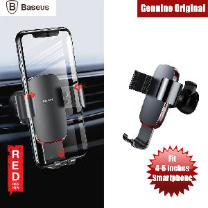 Picture of Baseus Metal Age Gravity Car Vent Mount for Samsung Note 9 Huawei P20 Pro iPhone X (Grey) Red Design- Red Design Cases, Red Design Covers, iPad Cases and a wide selection of Red Design Accessories in Malaysia, Sabah, Sarawak and Singapore