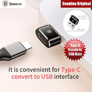 Picture of Baseus Mini Type C female to USB Male Adapter Converter (Black) Red Design- Red Design Cases, Red Design Covers, iPad Cases and a wide selection of Red Design Accessories in Malaysia, Sabah, Sarawak and Singapore