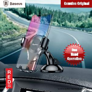 Picture of Baseus Osculum Type Universal Gravity Desktop Windscreen Car Mount for Smartphone up to 6 inches (Black) Red Design- Red Design Cases, Red Design Covers, iPad Cases and a wide selection of Red Design Accessories in Malaysia, Sabah, Sarawak and Singapore