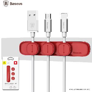 Picture of BASEUS Peas Magnetic Cable Clip USB Cord Holder Wire Management - Red Red Design- Red Design Cases, Red Design Covers, iPad Cases and a wide selection of Red Design Accessories in Malaysia, Sabah, Sarawak and Singapore
