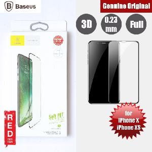 Picture of Baseus Soft PET Edge 3D Tempered Glass for Apple iPhone X iPhone XS (Black) Apple iPhone X- Apple iPhone X Cases, Apple iPhone X Covers, iPad Cases and a wide selection of Apple iPhone X Accessories in Malaysia, Sabah, Sarawak and Singapore