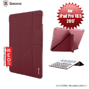 Picture of Baseus Simplism Y - Type Standable Case for Apple iPad Pro 10.5 2017 - Red Wine Apple iPad Pro 10.5 2017- Apple iPad Pro 10.5 2017 Cases, Apple iPad Pro 10.5 2017 Covers, iPad Cases and a wide selection of Apple iPad Pro 10.5 2017 Accessories in Malaysia, Sabah, Sarawak and Singapore