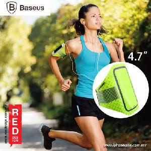 "Picture of Baseus Ultra Thin Sports Armband for Smartphone up to 4.7"" or iPhone SE iPhone 5S - Green Red Design- Red Design Cases, Red Design Covers, iPad Cases and a wide selection of Red Design Accessories in Malaysia, Sabah, Sarawak and Singapore"